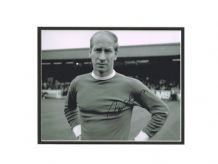 Bobby Charlton Autograph Signed Photo - Manchester United